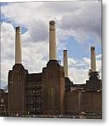 Battersea Power Station London Metal Print