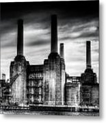 Battersea Power-station London Metal Print