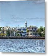 Battery Homes Metal Print
