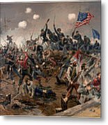 Battle Of Spottsylvania Metal Print