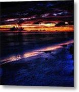 Beach 10 Metal Print