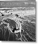 Beach 39 Metal Print