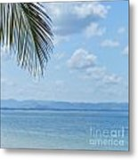 Beach Background Metal Print
