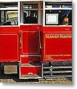 Beamish Tramways Metal Print