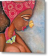 Beauty Metal Print by Chibuzor Ejims