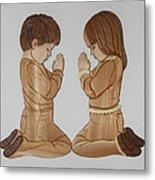 Bedtime Prayers Metal Print