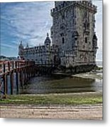 Belem Tower Metal Print