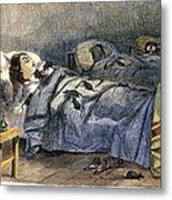 Bellevue Hospital, 1860 Metal Print