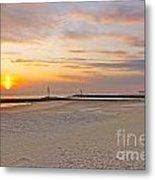 Belmar Sunrise Metal Print