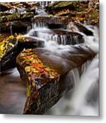 Below Oneida Falls Metal Print