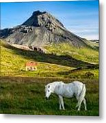Below The Volcano Metal Print
