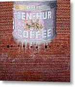 Ben Hur Coffee Metal Print