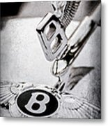 Bentley Hood Ornament - Emblem Metal Print