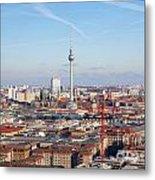 Berlin Cityscape Metal Print