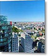 Berlin Panorama Metal Print