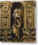 Berruguete, Alonso 1480-1561 Metal Print