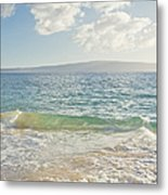 Big Beach Metal Print