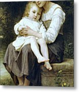 Big Sister Metal Print by William Bouguereau