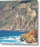 Big Sur Coastline Metal Print