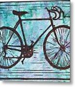Bike 8 Metal Print by William Cauthern
