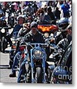 Bike Week Metal Print