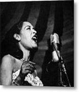 Billie Holiday (1915-1959) Metal Print