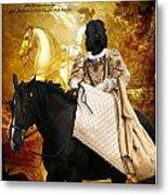 Black Russian Terrier Art Canvas Print Metal Print