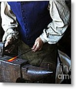 Blacksmith At The Old Fort Metal Print