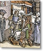 Bloodletting, 1540 Metal Print