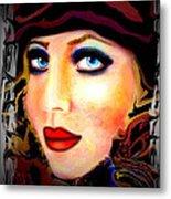 Blue Eyes Metal Print