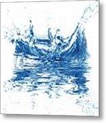 Blue Fresh Water  Metal Print