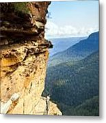Blue Mountains Walkway Metal Print