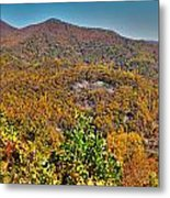 Blue Ridge Parkway Metal Print