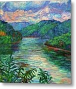 Bluestone Lake Metal Print