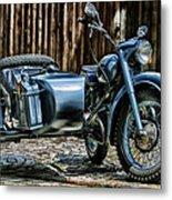Bmw 500 Sidecar Metal Print