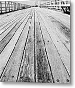Boardwalk Of Distance Metal Print
