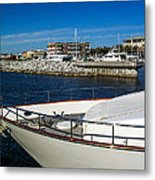 Boats In Port Metal Print