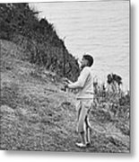 Bobby Jones At Pebble Beach Metal Print