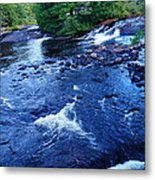 Bog River Falls Metal Print