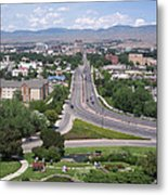 Boise From Boise Depot Tower Metal Print