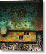 Bolted Metal Print