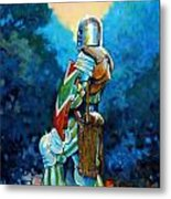 Bookend I Metal Print by Kevin Lawrence Leveque