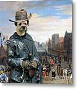 Border Terrier Art Canvas Print Metal Print