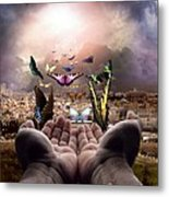 Born Again Israel Metal Print