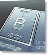 Boron Chemical Element Metal Print