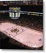 Boston Bruins Metal Print by Juergen Roth