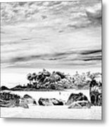 Boulders On The Beach Metal Print