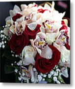 Bouquets Of Flowers For The Bride To The Wedding Metal Print