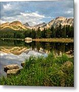 Brainard Lake Reflections Metal Print