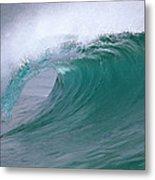 Breaking Wave North Shore Hawaii Metal Print